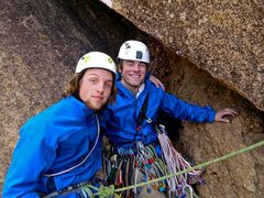 Rock Climbing Photo: My charismatic brother and I Photo by Branden Mich...