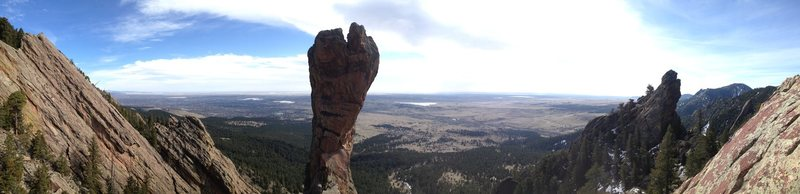 Rock Climbing Photo: Panorama.
