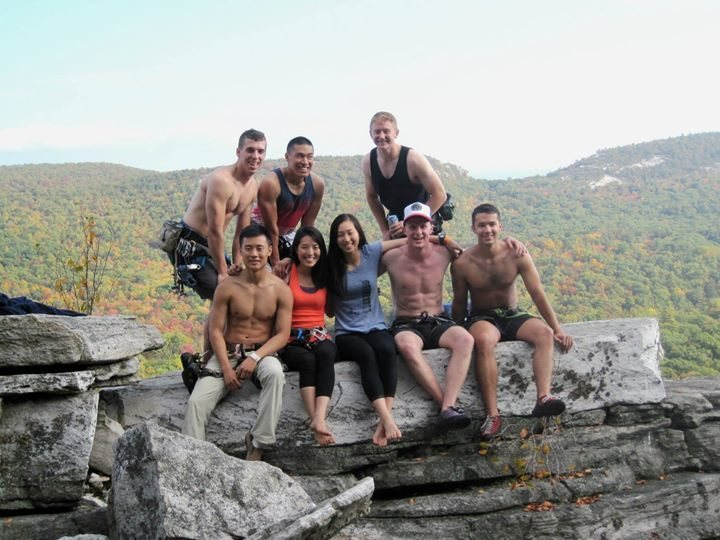 Rock Climbing Photo: group photo