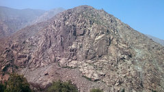 Rock Climbing Photo: The mountain accross the Central Highway has anoth...