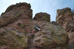 Rock Climbing Photo: Climbing Cheerleaders Gone Hippie.