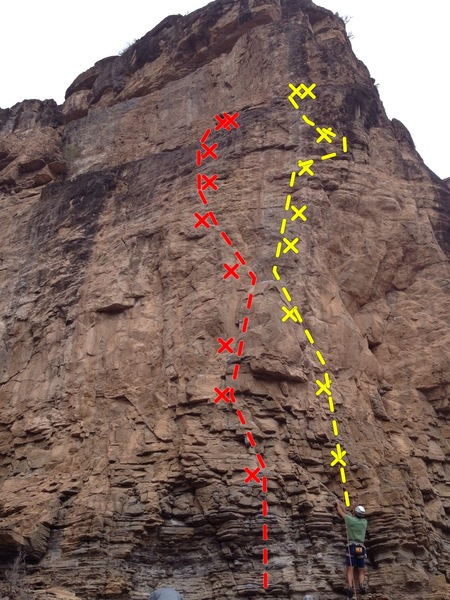 Rock Climbing Photo: Best routes on the prow of Main Elk:  Best in Show...