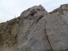 Rock Climbing Photo: And four more pairs on the rock behind this one