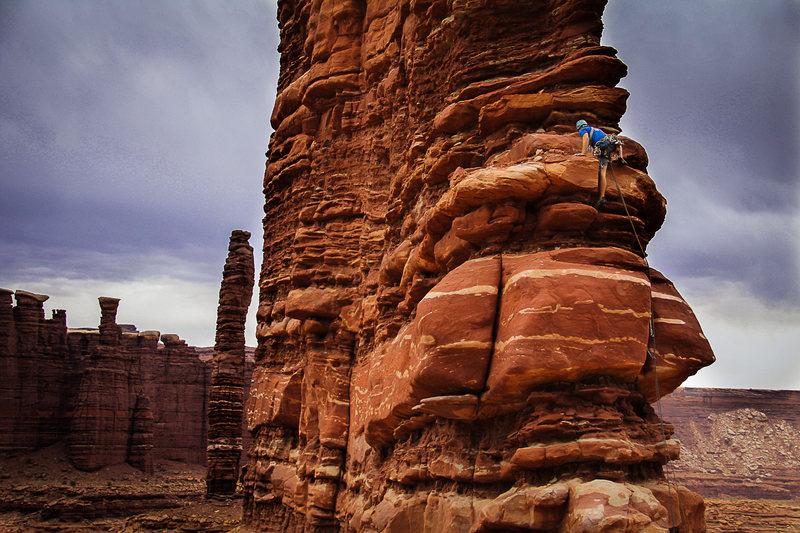 Rock Climbing Photo: Matt P on Sharks fin