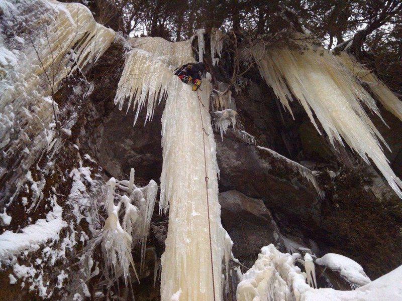 Rock Climbing Photo: F.Gosselin on a very good year