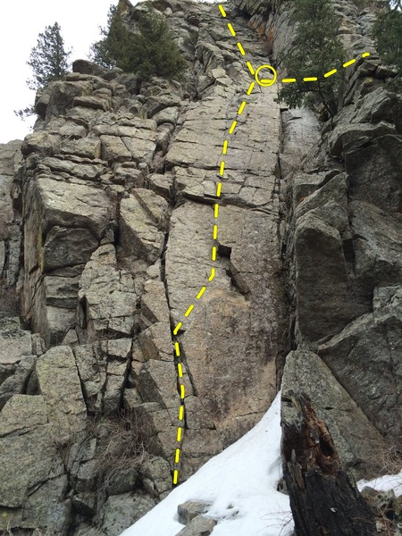 Rock Climbing Photo: Gomer Pyle.