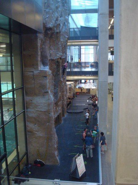 Rock Climbing Photo: Climbing wall at the rec center