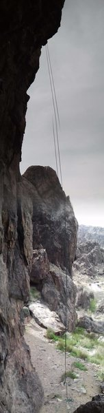 "Rope hangs on the epic ""Creepy Hollow"""