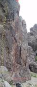 Rock Climbing Photo: Fairway Crag, Creepy Hollow 11b