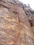 Rock Climbing Photo: Precipitation