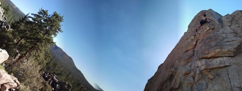 Fun with pano at Coyote Crag