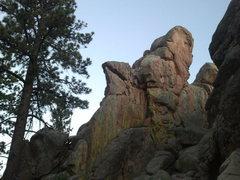 Rock Climbing Photo: The Lizard