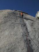 Rock Climbing Photo: Brandon Lawson on Contemplate