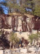 Rock Climbing Photo: Mandela 5.11b/c