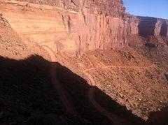 Rock Climbing Photo: Driving