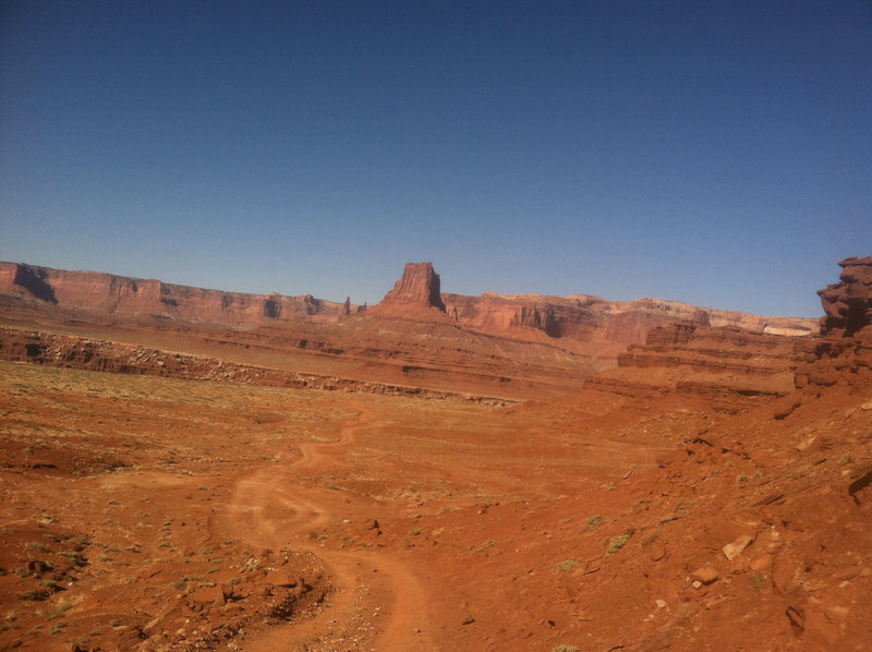 Driving on the White Rim