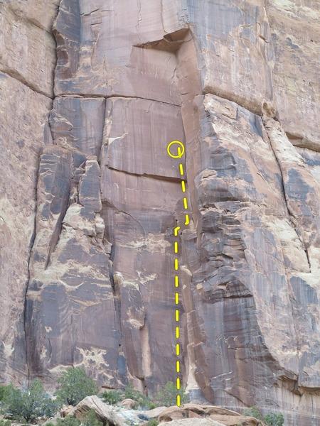 Rock Climbing Photo: Bam.