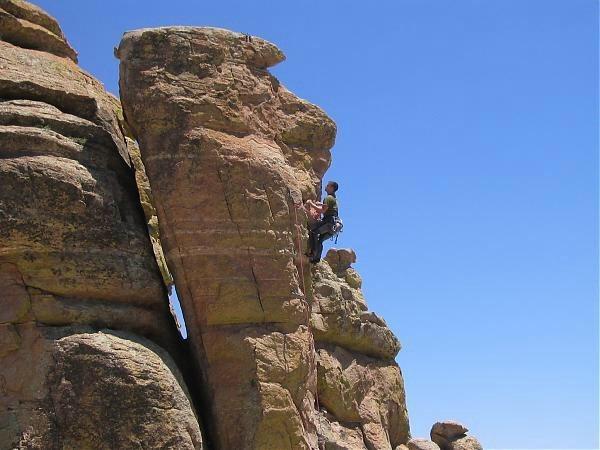 Rock Climbing Photo: Mt Lemmon AZ