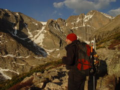 Rock Climbing Photo: Longs Peak Cirque