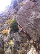 Rock Climbing Photo: The arete.