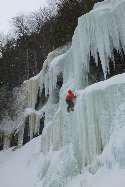 Rock Climbing Photo: nice column