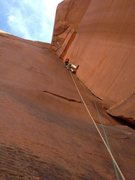 Rock Climbing Photo: after some hard moves way off the ground you hit a...