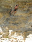 Rock Climbing Photo: In and...