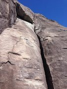 Rock Climbing Photo: 2nd Pitch of Rats Ass