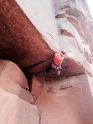 Rock Climbing Photo: This was hard..
