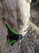 Rock Climbing Photo: West Overhang