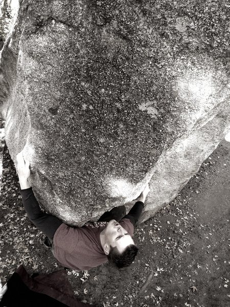Rock Climbing Photo: bearhug