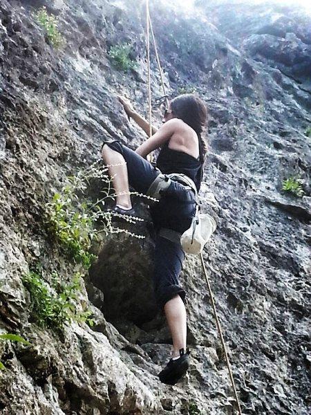 Rock Climbing Photo: Climbing in Austin, Texas