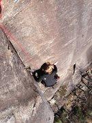Rock Climbing Photo: P1 of Rats Ass, 5.8