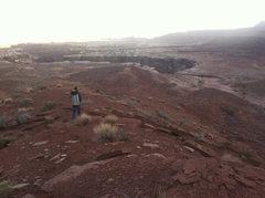 Rock Climbing Photo: Hiking back to the car.