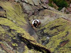 Rock Climbing Photo: King Tut corner.