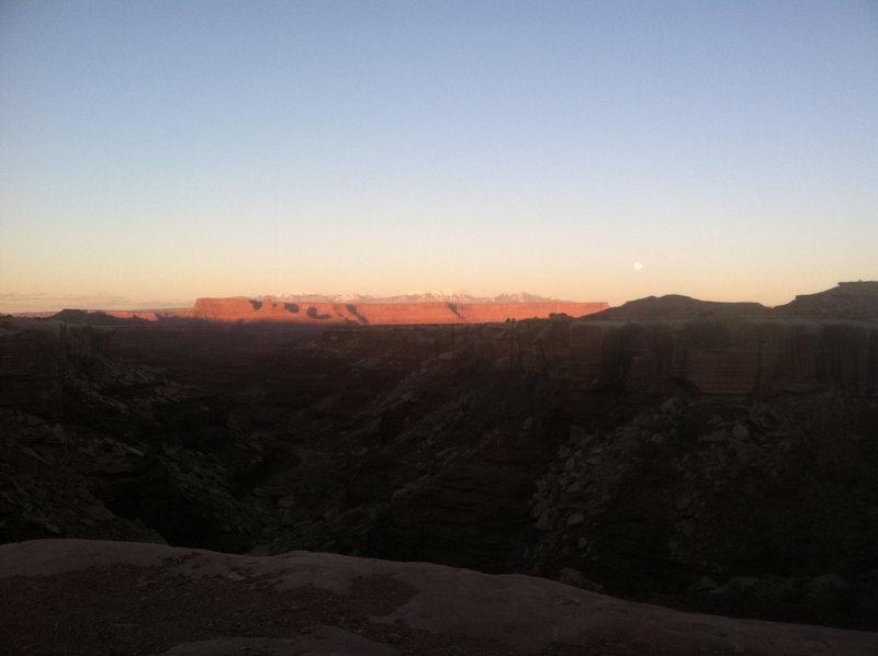 Rock Climbing Photo: The White Rim.