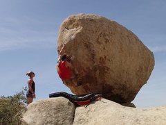 Rock Climbing Photo: Steven Joseph becoming a secret samurai.