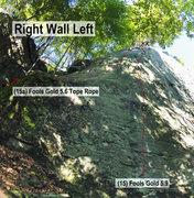 Rock Climbing Photo: Right Wall Left