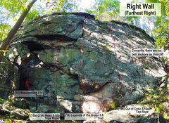 Rock Climbing Photo: Right Wall Furthest Right