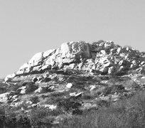Rock Climbing Photo: 1976 climbing pic of Old Caslte Crag.