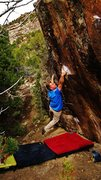 Rock Climbing Photo: Stick the pinch/sidepull, and deal with the blind ...