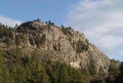 Rock Climbing Photo: Upper South Canyon, north and west faces from Whis...