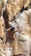 Rock Climbing Photo: Andrew Roberts pulling into the Arch!