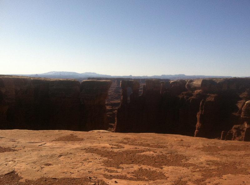 Rock Climbing Photo: Monument Basin.