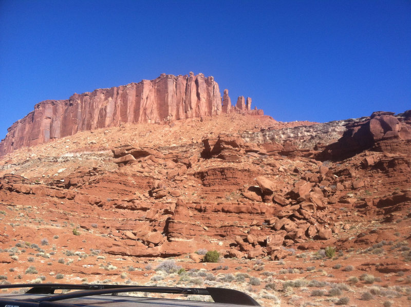 Towers off the White Rim.