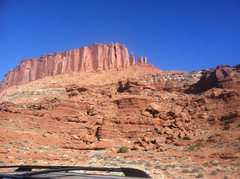 Rock Climbing Photo: Towers off the White Rim.
