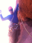 Rock Climbing Photo: 3rd and final pitch on Standing Rock.