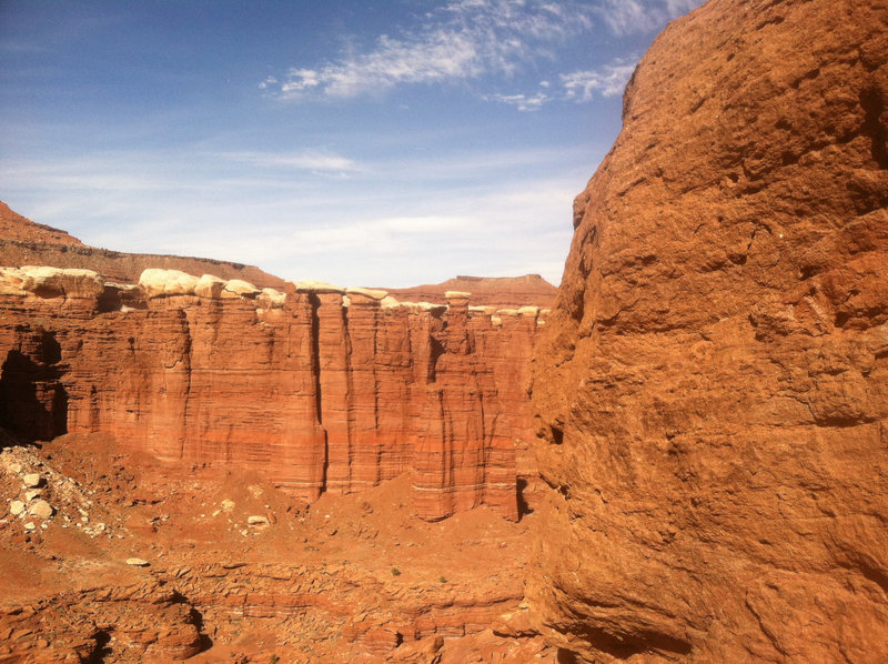 Standing Rock and Monument Basin.