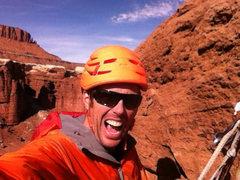 Rock Climbing Photo: Standing Rock selfie.