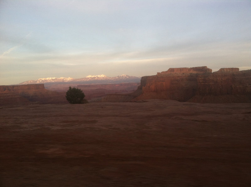 Rock Climbing Photo: Driving out the White Rim